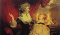 Georgiana, Duchess of Devonshire and Lady Georgiana Cavendish, by Joshua Reynolds.