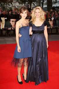 Keira Knightley and Amanda Foreman arrive at the world premiere of The Duchess