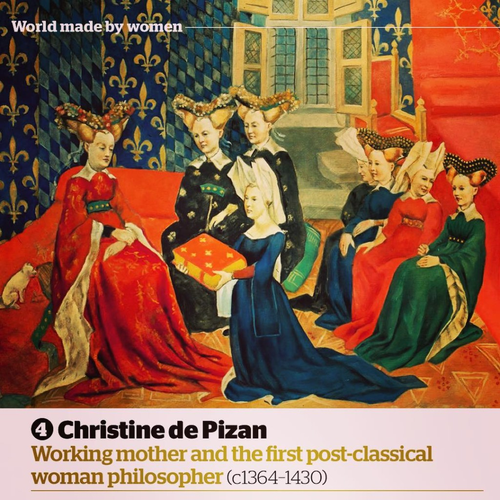 Christine de Pizan is one of the greatest women ofhellip