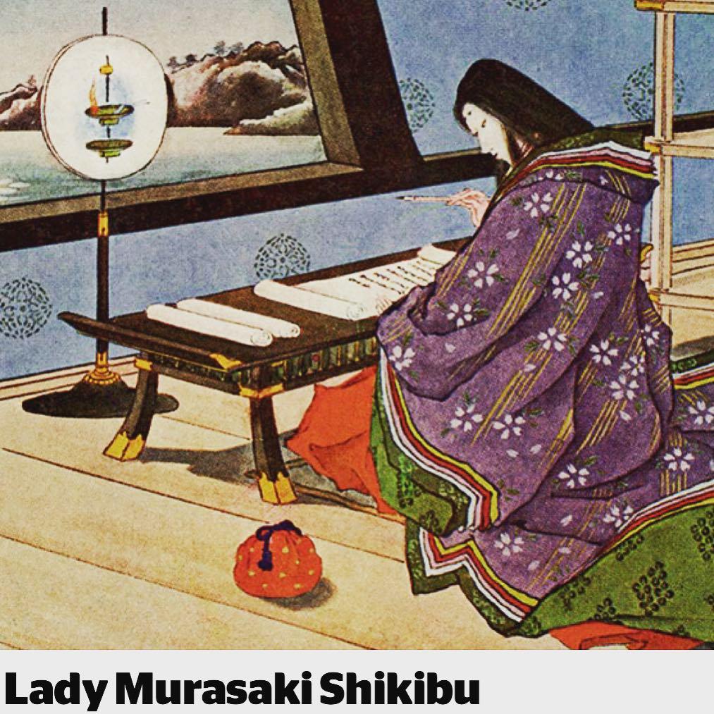 Lady Muraski Shikibu author of the worlds first novel Thehellip