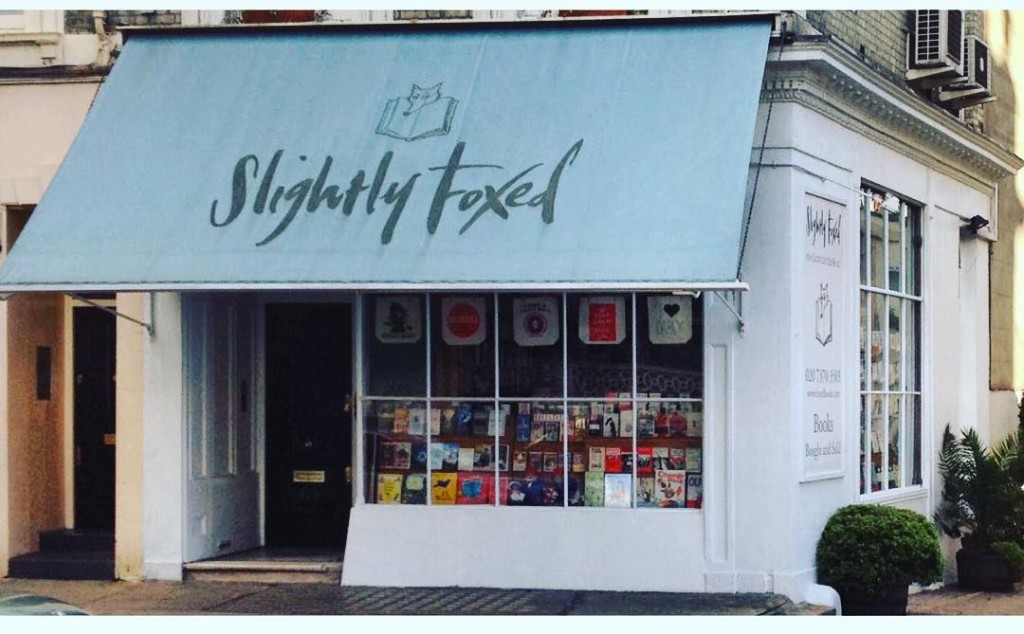 Calling all book lovers! The wonderful Slightly Foxed bookshop inhellip