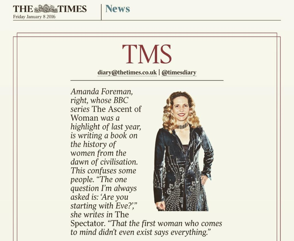 The Times doing its bit for feminism