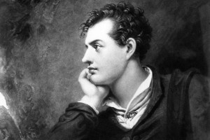 English Romantic poet George Gordon Noel Byron (from around 1810). To keep his weight down, he subsisted on a diet of flattened potatoes drenched in vinegar. PHOTO: HULTON ARCHIVE/GETTY IMAGES