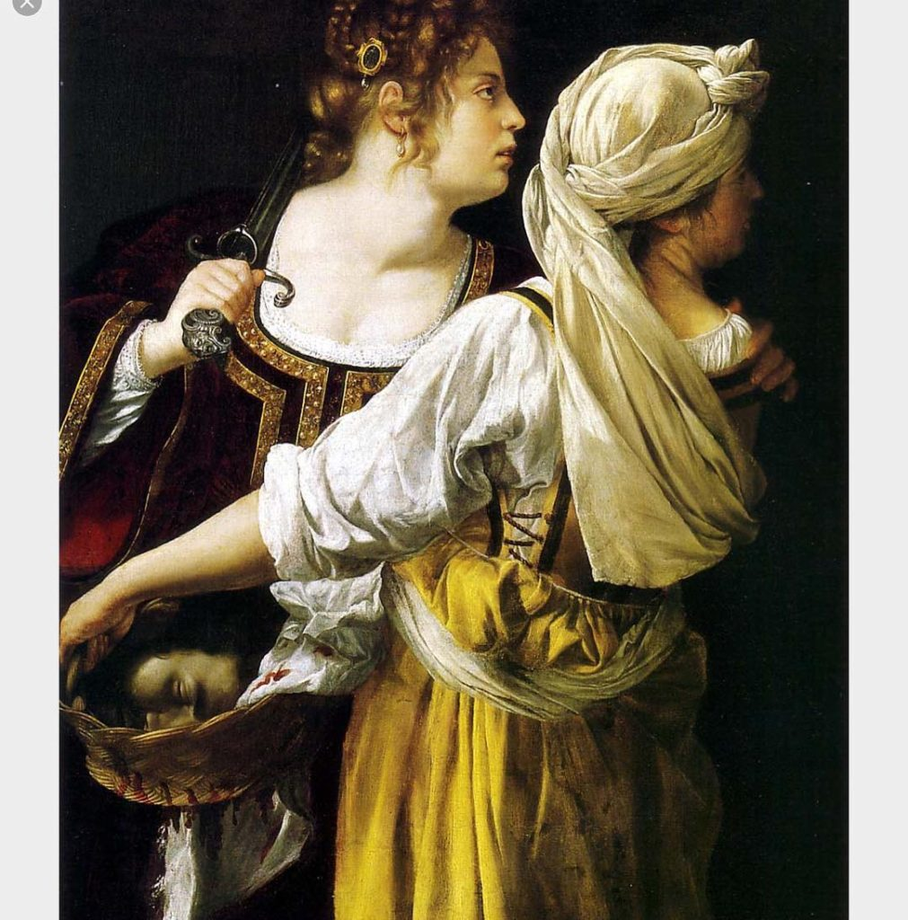 The artists name is Artemisia Gentileschi 15931656 Shout it fromhellip