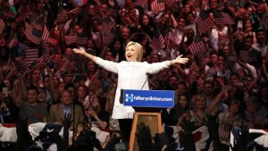 Hillary Clinton was greeted with cheers in California last week but after 20 years as a political insider she has been struggling to connect with younger voters REUTERS