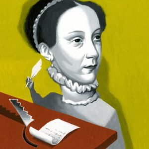 Spies easily deciphered letters by Mary, Queen of Scots ILLUSTRATION: THOMAS FUCHS