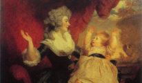 Georgiana, Duchess of Devonshire and Lady Georgiana Cavendish, by Joshua Reynolds.