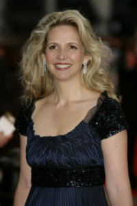 Amanda Foreman at the London premier of The Duchess