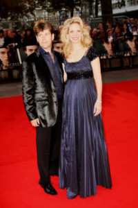 Amanda Foreman arrives at the world premiere of The Duchess