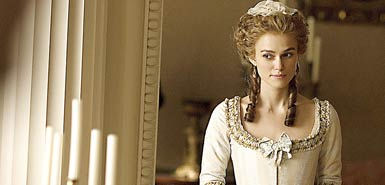 Keira Knightley in the 2008 film The Duchess