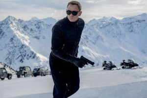 Daniel Craig in the latest James Bond film, 'Spectre' PHOTO: COLUMBIA PICTURES