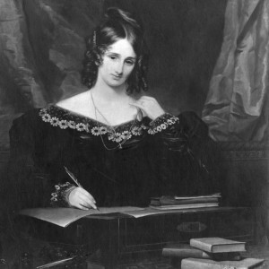 Mary Wollstonecraft Shelley, the British writer best known for 'Frankenstein,' and second wife of poet Percy Bysshe Shelley. PHOTO: HULTON ARCHIVE/GETTY IMAGES