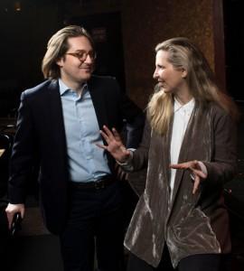 Lucas Wittmann and Amanda Foreman