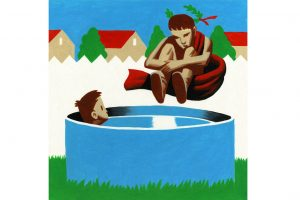 The swimming pool and centuries of tradition ILLUSTRATION: THOMAS FUCHS